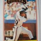 1988 Topps Mini Baseball Card, Jeffrey Leonard, S.F. Giants
