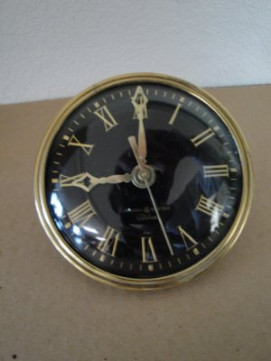 Vintage 1950's General Electric Telechrom Clock Face & Glass For Parts