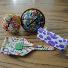 Vintage Rattles Noise Makers Shakers Clappers