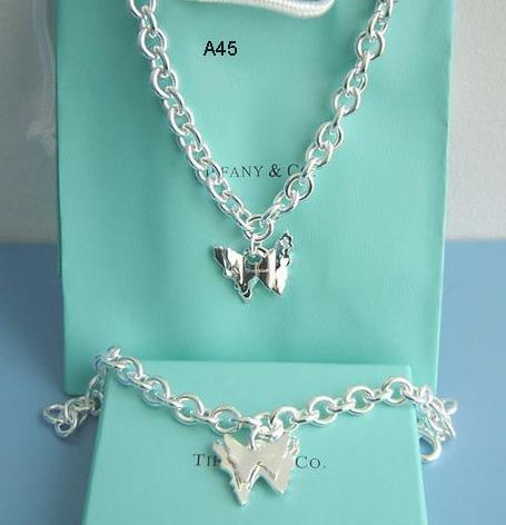 Bracelet and Necklace T&Co 925