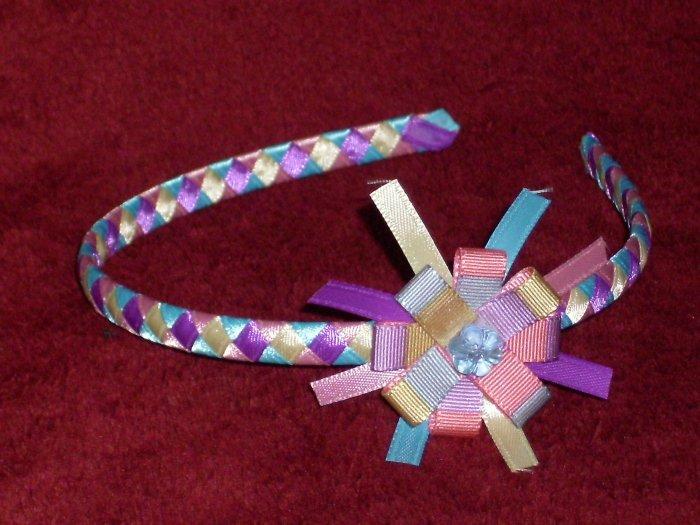 Headband + bow,,