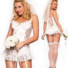 LC8231 Naughty Nuptials Bride Costume