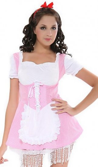 LC8048-1 Lil'' Miss Country Girl Costume