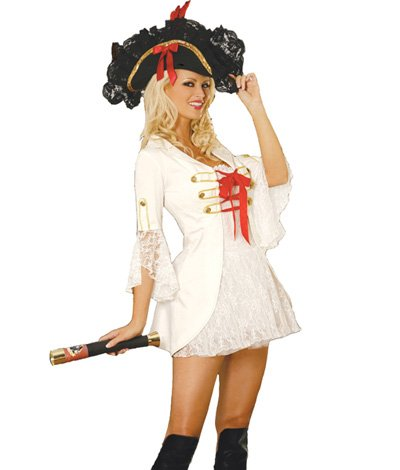 LC8253 Captain Booty Pirate Costume