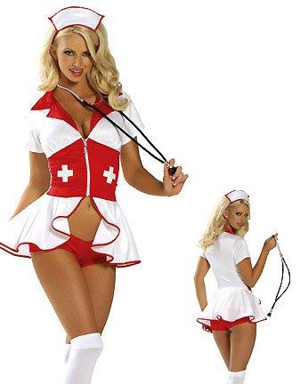 LC8055 Pin Up Nurse Costume