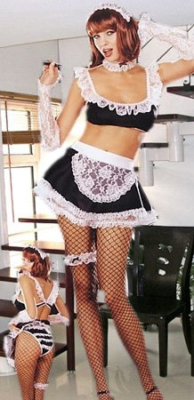 LC8073 Sexy French Maid Costume