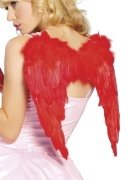 LC81250-3 Red Angel Wings