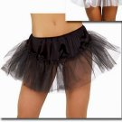 LC7017 Black Trimless Petticoat