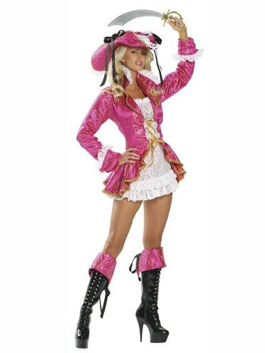 LC8238P Plus Size Passion Pirate Costume