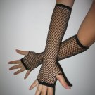 LC7007-2 Black Fishnet Arm Warmers