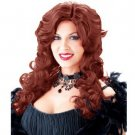 LC0135 Saloon Girl Wig Auburn