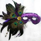 LC0318 Feather Masquerade Eye mask