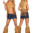 LC8379 4pc Seventies Hippie Babe Costume