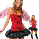 LC8227P Plus Size Lil LadyBug Costume
