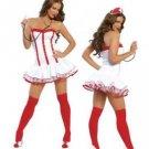 LC8209 Yanida Heartcheck Nurses Costume