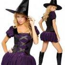 LC8344 Sexy Sorceress Halloween Costume