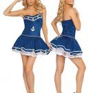 LC8414 Blue Sailor Girl Costume