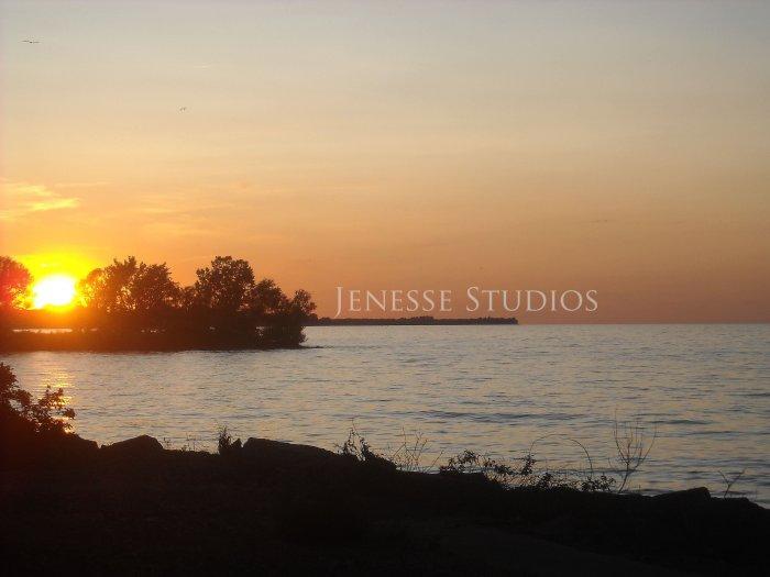Lake Ontario at Sundown