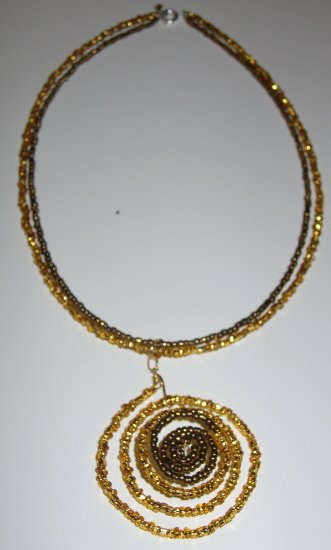 Glittering Gold necklace