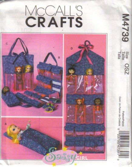 McCalls Crafts M4739 Accessories for Fashion Dolls