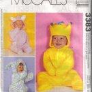 3383 McCalls Infants Buntings