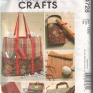 M4728 McCalls Crafts-Knitting & Sewing Organizers