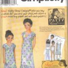 5141 Simplicity -Girls & Misses Dresses