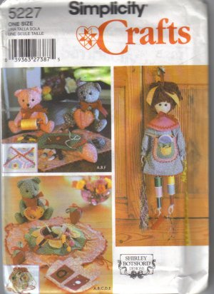 5227 Simplicity Crafts-Sewing Accessories
