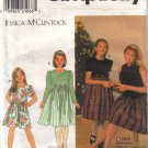 7923 Simplicity Jessica McClintock Girls Dresses
