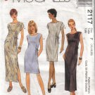 2117 1999 McCalls Misses Dress In 2 lenghts 4-20