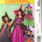 MP355 McCall's Costumes-Childrens & GIrls Witches3-14