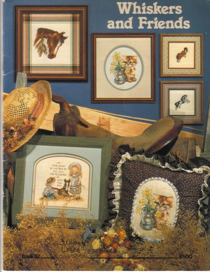 1986 Whiskers and Friends Counted Cross Stitch