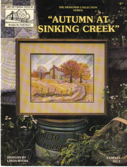 """1984 """"Autumn At Sinking Creek"""" by Linda Myers"""