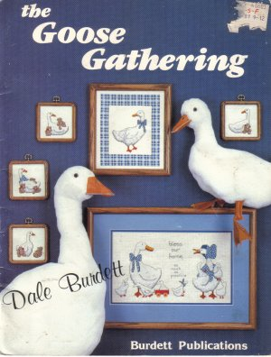 1985 The Goose Gathering by Dale Burdett