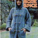 1976 Bucilla Presents More Sprice-Sweaters & Afhgan