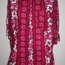 Mens Cordinal Florial Tropical Shirt- 4XL