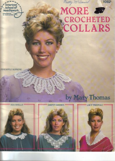 1987 More Crocheted Collars