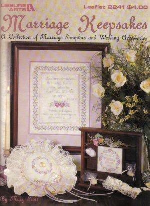 1992 Marriage Keepsakes-Marriage Sampler & Accessories