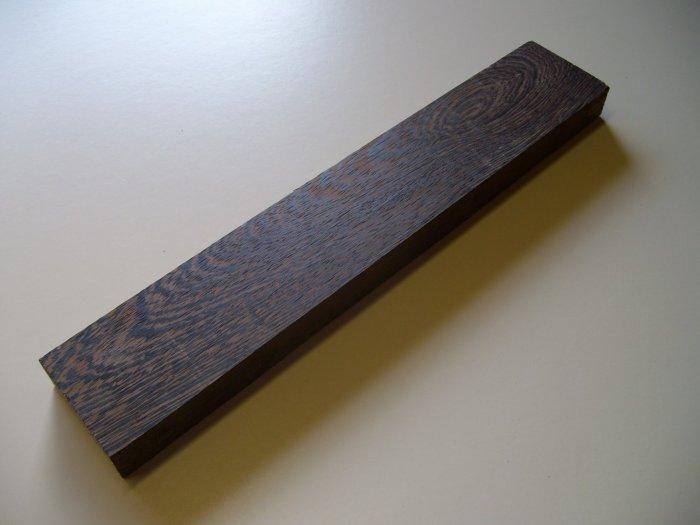 """Wenge Blank/ Block/Kiln Dried/16"""" x 3"""" x 1 1/8"""" ( 410mm x 75mm x 27mm )"""