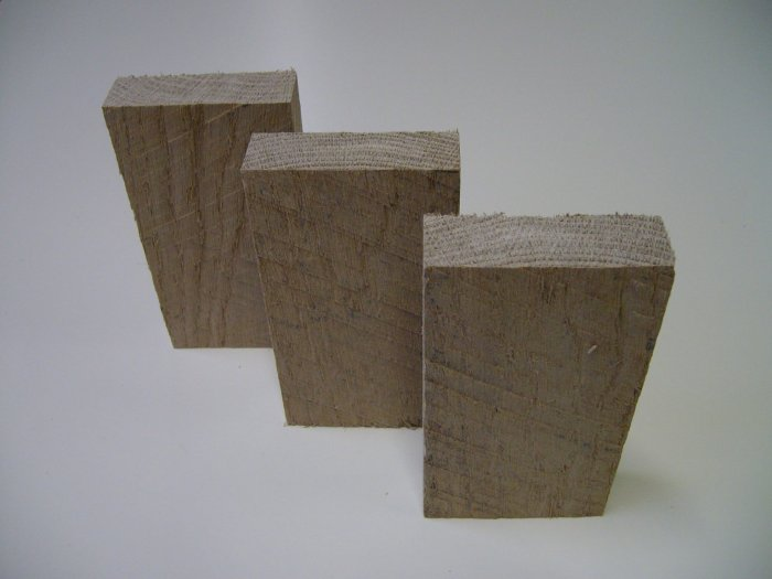 "Oak Blocks / Oak Blanks-Kiln Dried-6"" x 3"" x 1"" ( 152mm x 75mm x 25mm )"