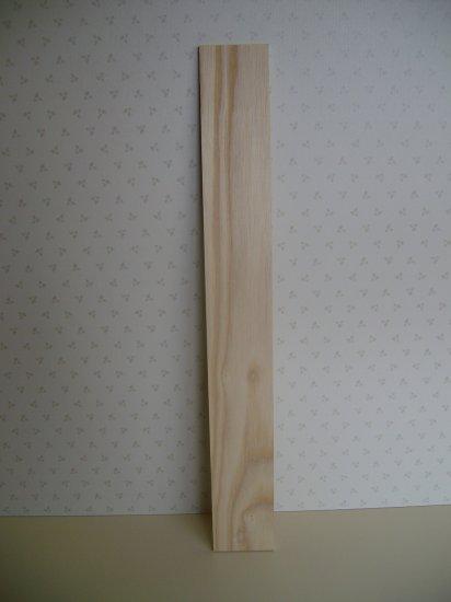 "Ash Fingerboard - Fretboard Blank/Guitar -19 7/8"" x 2 1/2"" x 1/4"" ( 505mm x 60mm - 47mm x 9mm )"