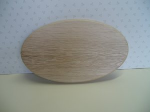 """Oval Sign Blanks-Oak Sign-Oval Shaped-Blanks- 5"""" x 4""""  to 36"""" x 12""""(125mm x 102mm to 915mm x 305mm )"""