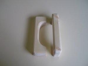 """Pine Cabinet Door Handles - Rustic Pine -D Handles/ 7"""" x 2"""" x 1 1/8"""" ( 180mm x 50mm x 28mm )"""