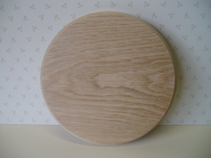 """Round Sign Blanks-Oak Sign-Circular Blanks- 6"""" to 12""""(125mm to 305mm )"""