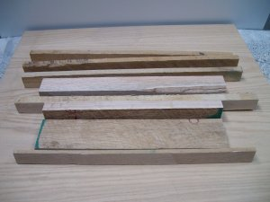 Craft / Hobby Oak Wood Pack / Wood Pieces / Selection of Oak Wood Pieces