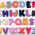 ABCs Felt Letters