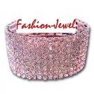 8 Row Crystal Rhinestones Bracelet