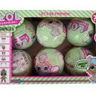 LOL Surprise Doll Series 2, 6 Balls, Eggs Set