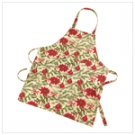 Holiday print kitchen apron