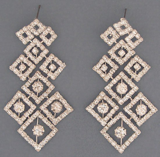 New Bridal Rhinestone Earrings